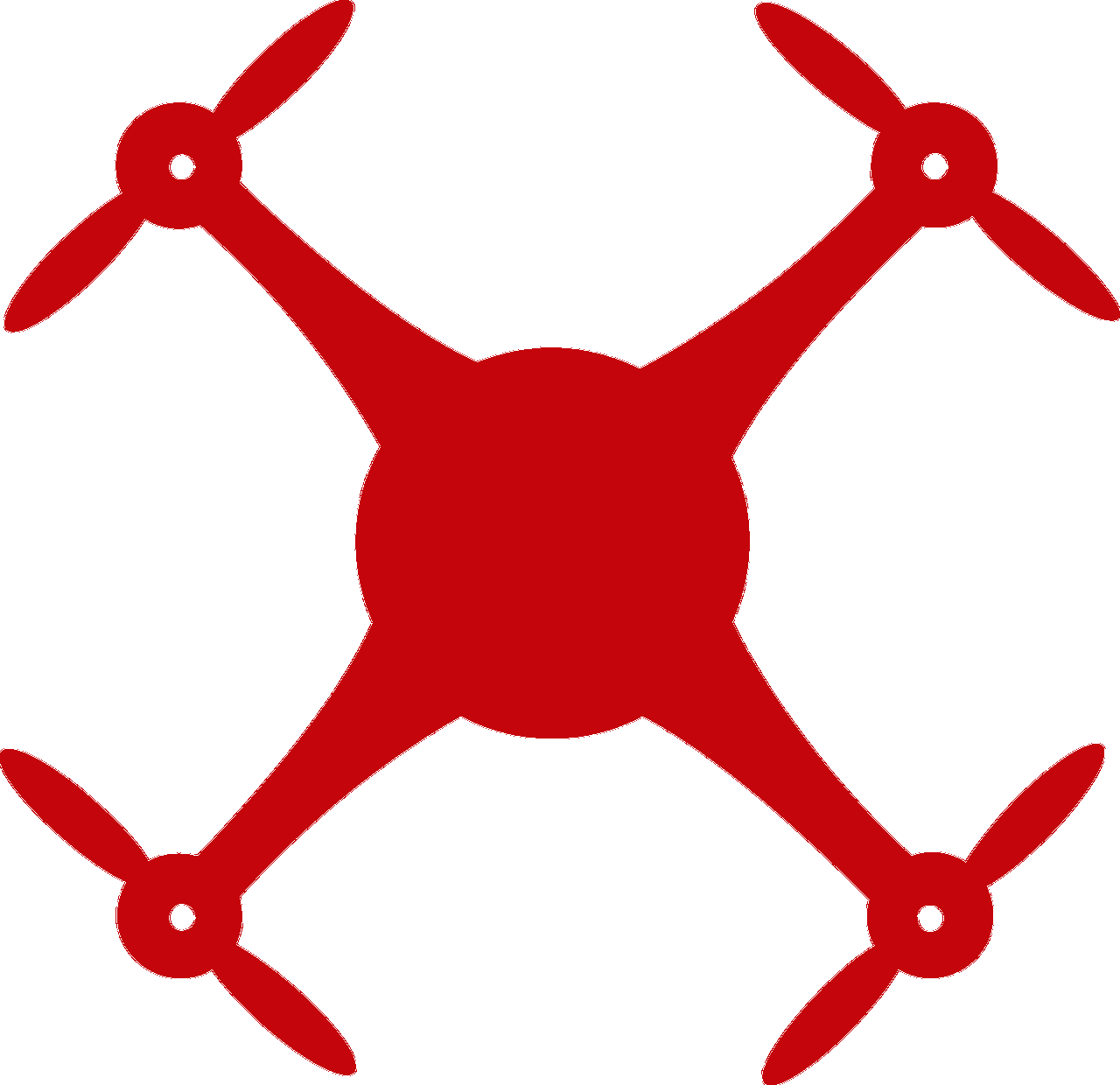 red drone icon